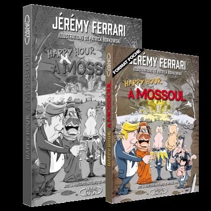 Livre Poche-Jérémy Ferrari- Happy Hour à Mossoul